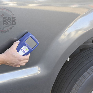 Density Meter Scanning Vehicle