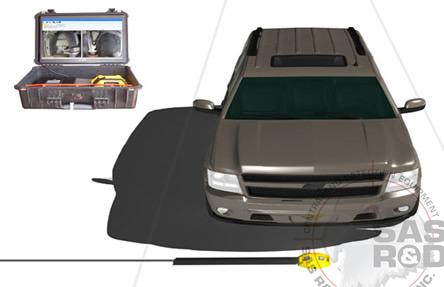 Portable Under Vehicle Inspection : SAS R&D SERVICES